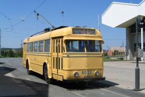 MTUB Trolleybus 6023