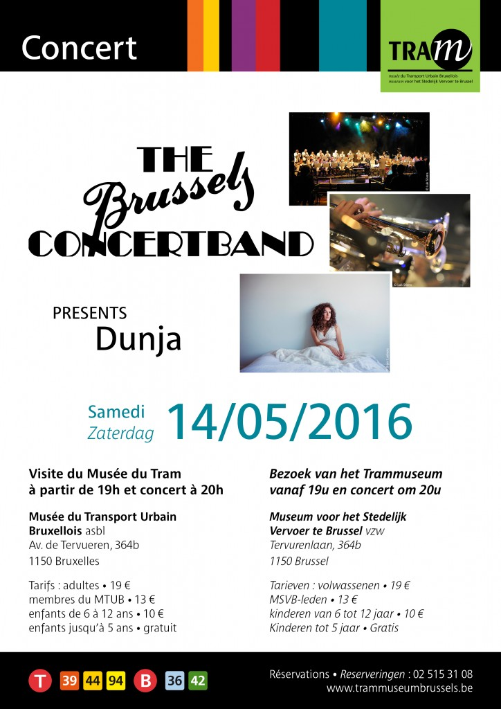 Concert The Brussels Concertband & Dunja