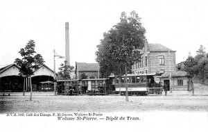 Dépôt de Woluwe en 1902