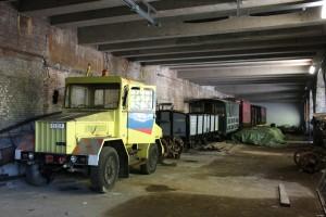 Manœuvres au tunnel Léopold