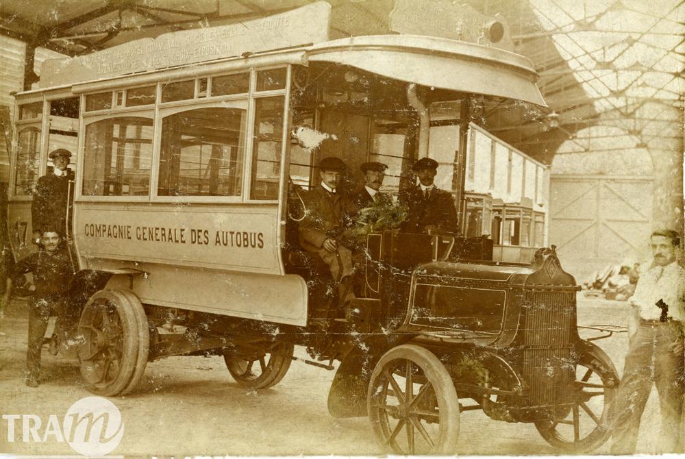 Autobus 17 - Compagnie générale des Autobus