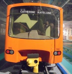 Maquette métro Expo Heysel 2017