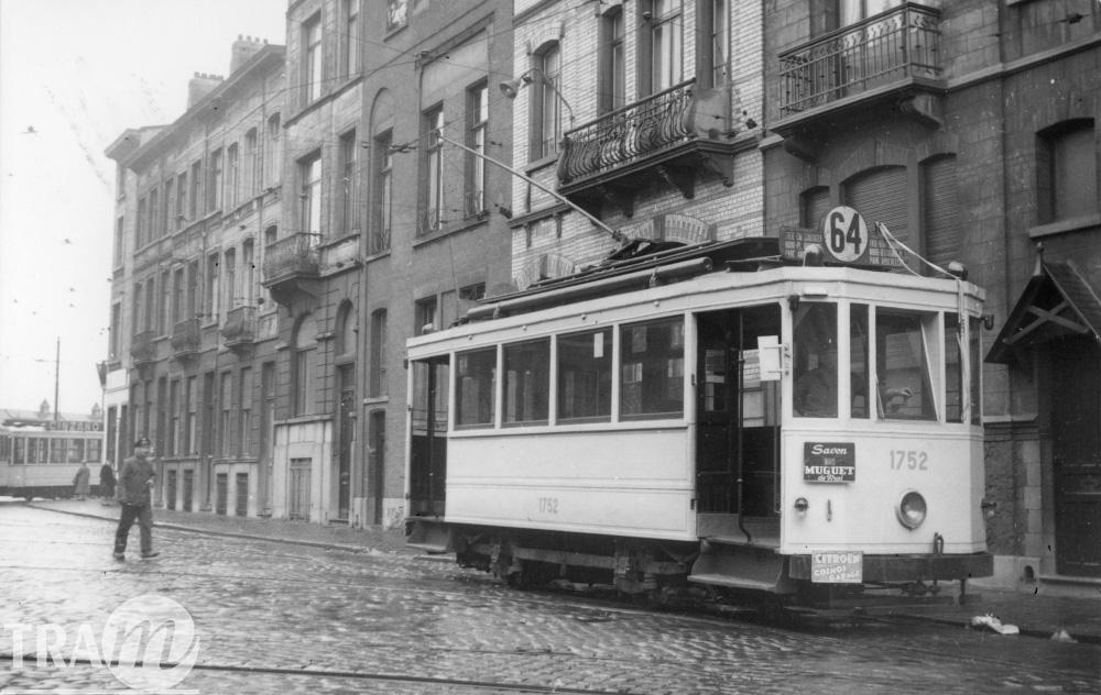 Motrice 1752 - Ligne 64