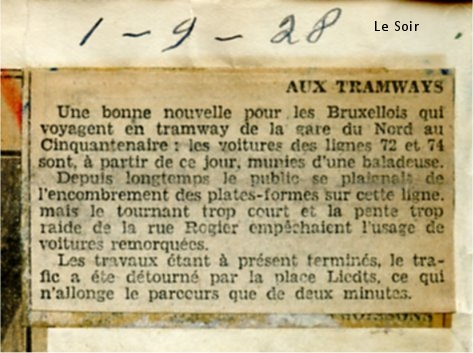 Revue de Presse (1er septembre 1928)
