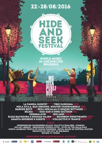 Affiche Hide and Seek Festival