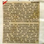Revue de Presse (1er juin 1932)