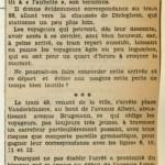 Revue de Presse (1er juillet 1938)