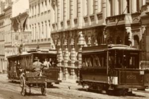 Tramways ligne Impasse - Exposition (1897)