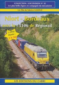 Niort - Bordeaux avec la 75106 de Régiorail