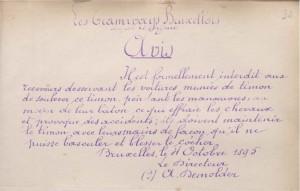 Avis (4 octobre 1895)