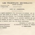 Avis au Personnel (7 août 1902)