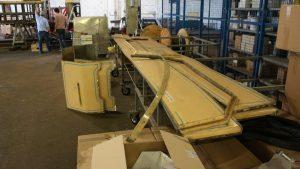 MTUB 1428 en rénovation - Panneaux de caisse