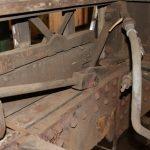 MTUB 1428 en rénovation - Détail châssis