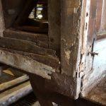 MTUB 1428 en rénovation - détail caisse