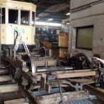MTUB 1428 en rénovation - séparation caisse et truck