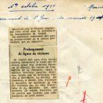 Revue de Presse (1er octobre 1954)