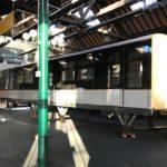 Arrivée de la maquette du futur métro M7
