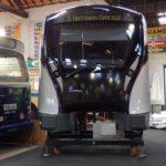 Arrivée au Musée de la maquette du futur métro M7