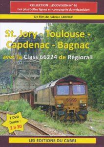 St. Jory - Toulouse - Capdenac - Bagnac