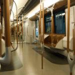 Maquette du nouveau métro M7 au Musée