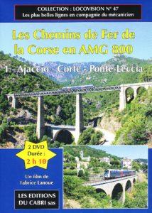Les Chemins de Fer de la Corse en AMG 800 (1)