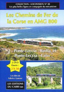 Les Chemins de Fer de la Corse en AMG 800 (2)