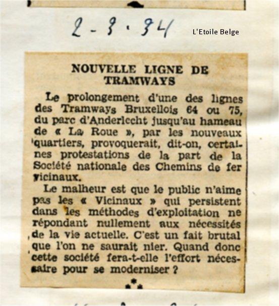 Revue de presse (02/03/1934)