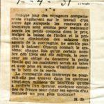 Revue de presse (01/04/1931)