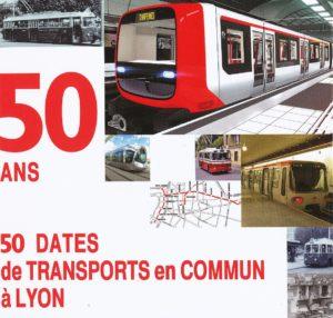 50 Ans et 50 Dates de Transports en Commun à Lyon