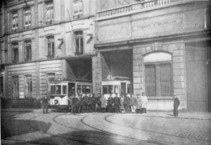 Dépôt rue Brogniez