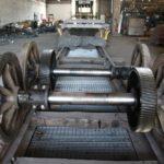 Motrice 984 en rénovation : essieux