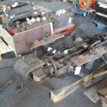 Motrice 984 en rénovation : accessoires divers