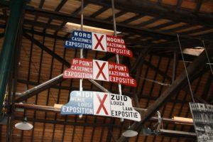 Plaques utilisées pendant l'Expo 1910
