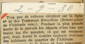 La Gazette - 02/09/1930