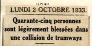 Le Peuple - 02/10/1933