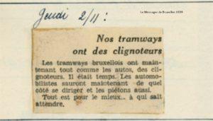 Le Messager de Bruxelles - 02/11/1939