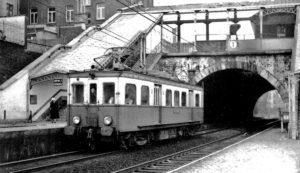 Chemin de fer Bruxelles - Tervuren. Gare Etterbeek.