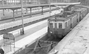 Chemin de fer Bruxelles - Tervuren. Quartier Léopold.