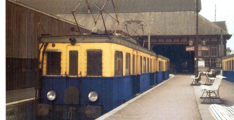 Chemin de fer Bruxelles - Tervuren. Quartier Léopold, 1958