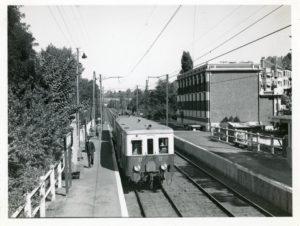 Chemin de fer Bruxelles - Tervuren. Gare Woluwe avenue.