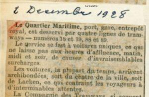 La Gazette - 02/12/1928