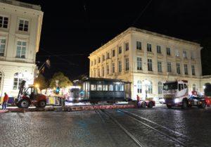 Remorques SNCV A1936, place Royale, 150 ans du tram. 24.04.2019 © L. Koenot