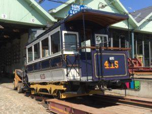 Motrice 415, 150 ans du tram. 16.04.2019 © A. Patriarche