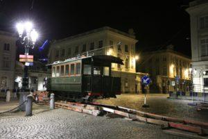 Motrice SNCV 19, place Royale, 150 ans du tram. 24.04.2019 © L. Koenot