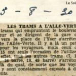 Le Soir - 03/08/1930