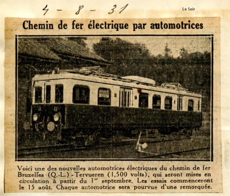 Le Soir - 04/08/1931