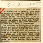 Le Soir - 04/09/1930