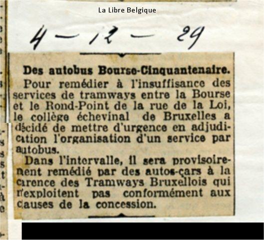 La Libre Belgique - 04/12/1929
