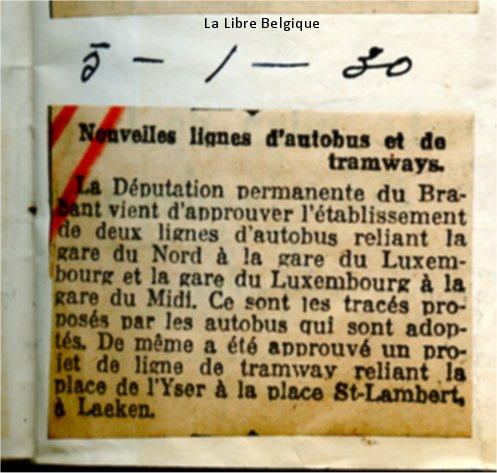 La Libre Belgique - 05/01/1930