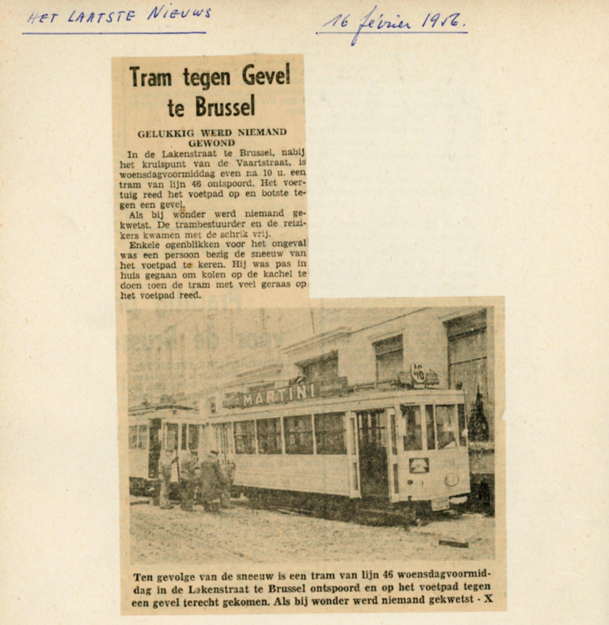 Het Laatste Nieuws 16/02/1956